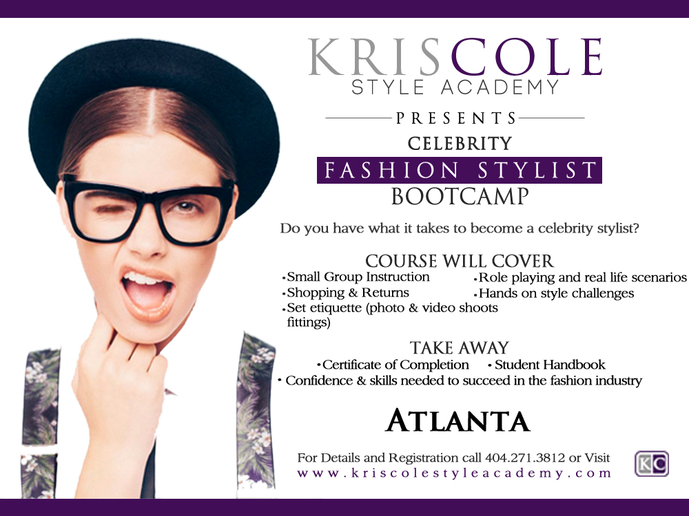 Fashion Styling Bootcamp Atlanta Kris Cole Style Academy